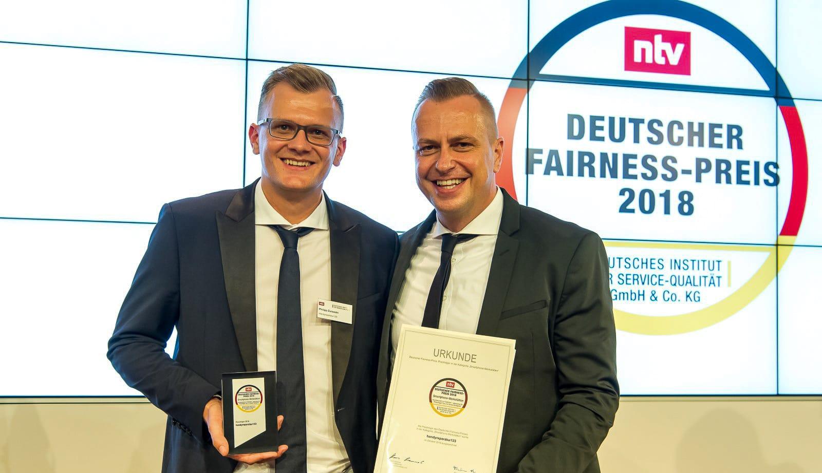 Philipp Zurawski & Lars Zurawski Fairness-Preis 2018
