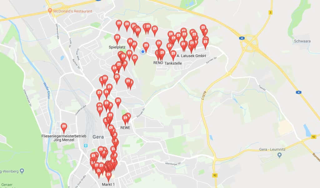 Google Local Guide Level 7 in Sichtweite