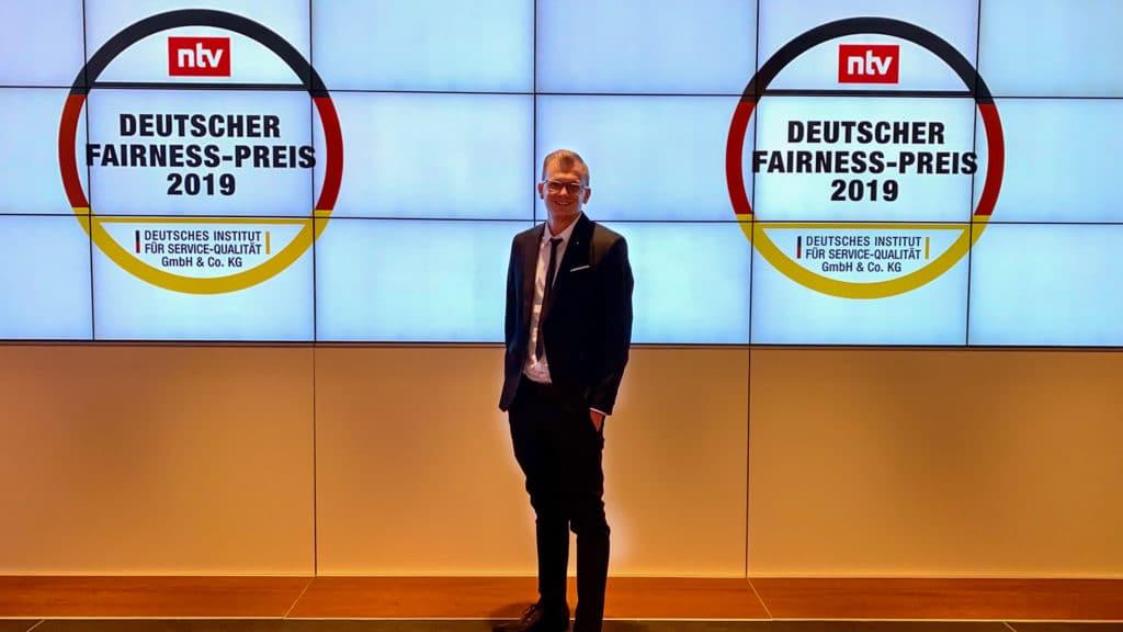 Philipp Zurawski Fairness Preis 2019