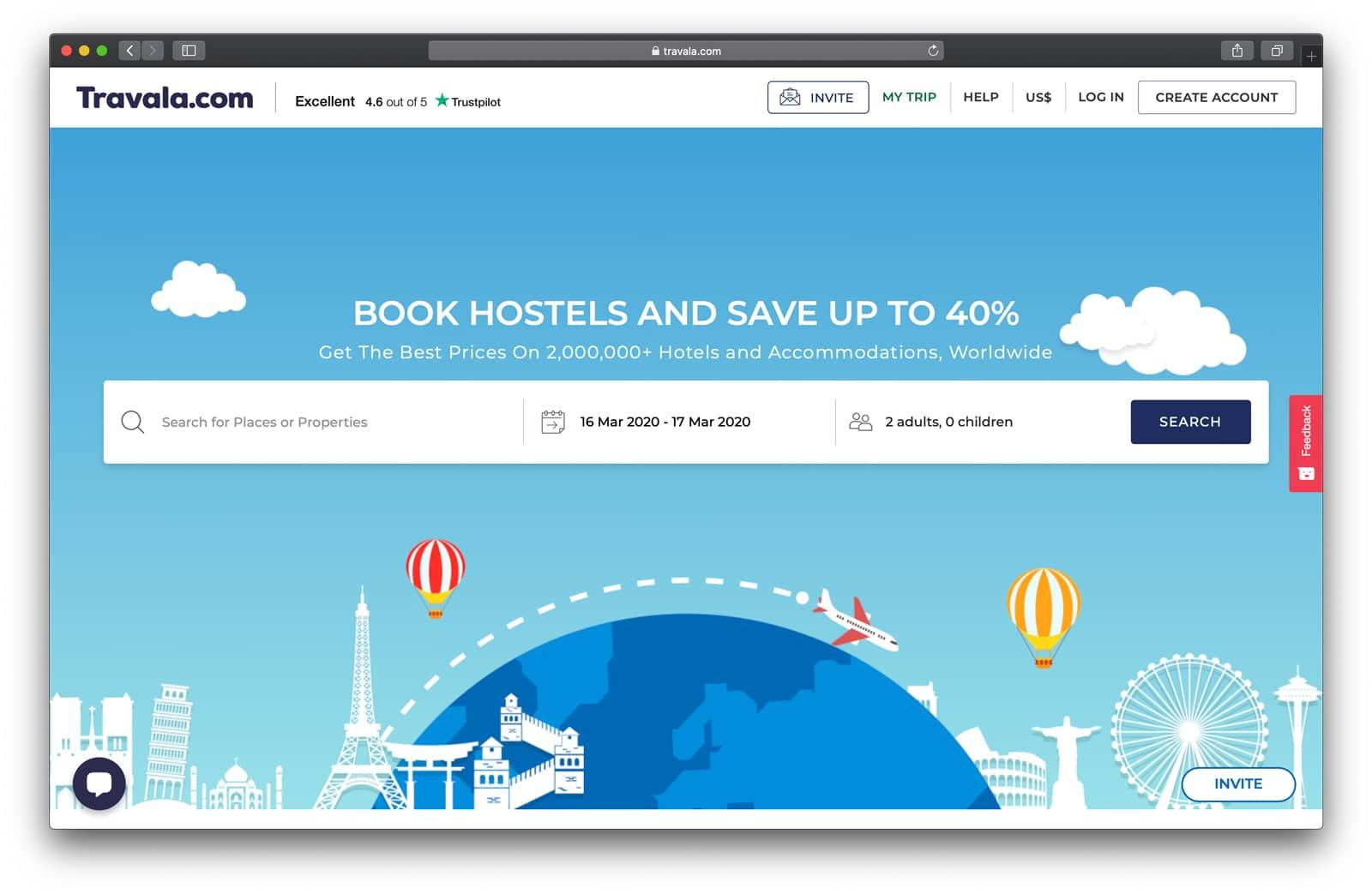 Travala Hotelbuchungen mit Bitcoin und anderen Kryptowährungen